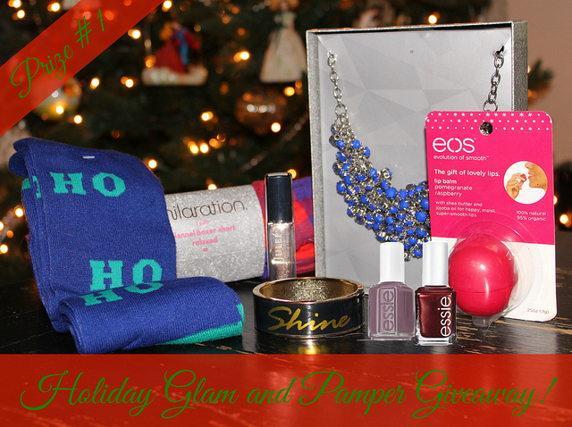 Holiday Glam and Pamper Giveaway!!!!!