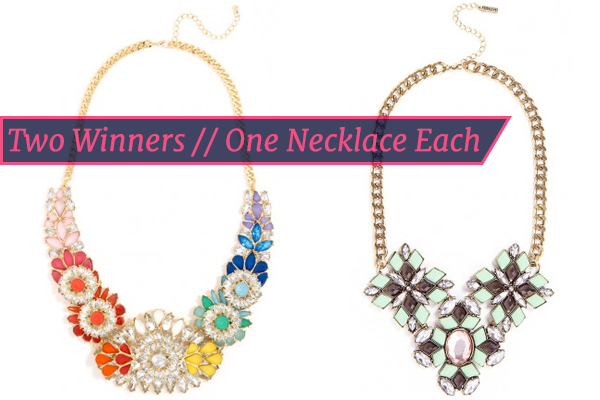 Giveaways Galore this month. First up….Bauble Bar Giveaway!