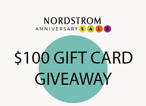 Nordstrom anniversary giveaway