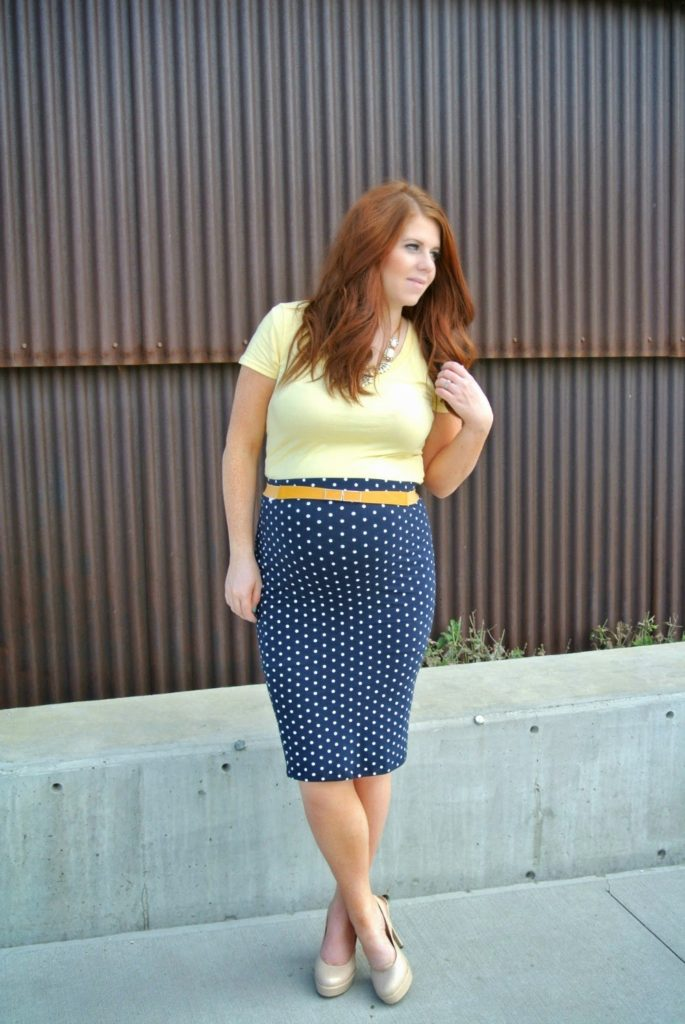 Yellow and Dots