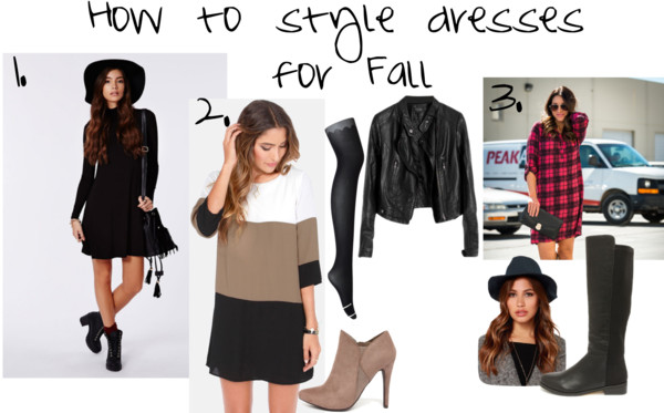 Styling Dresses for Fall