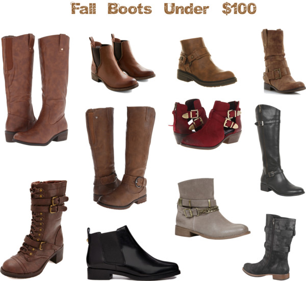 Fall Boots for under $100