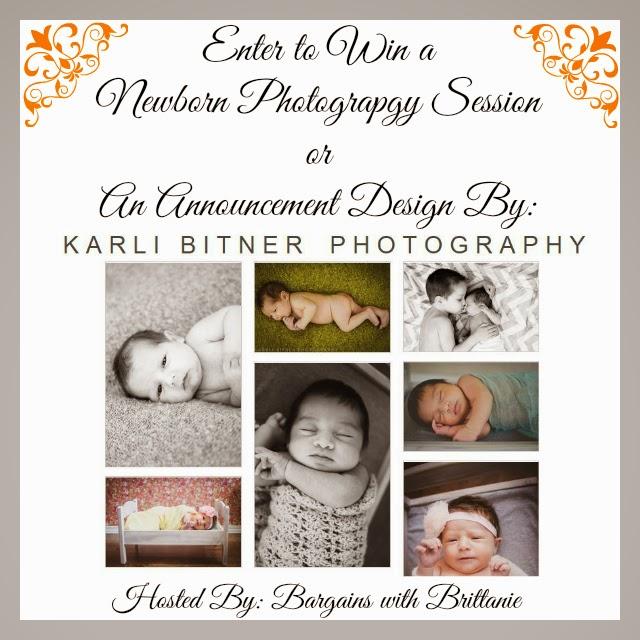 Karli Bitner newborn photography giveaway