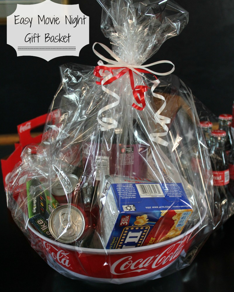 diy movie night gift basket nightchayde
