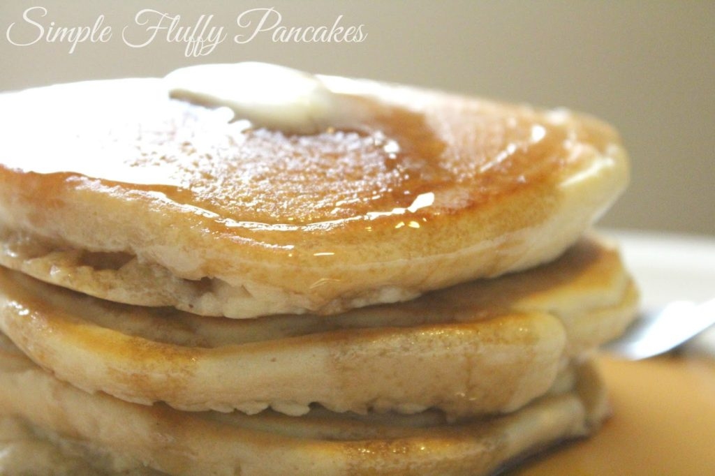 Simple Fluffy Pancakes
