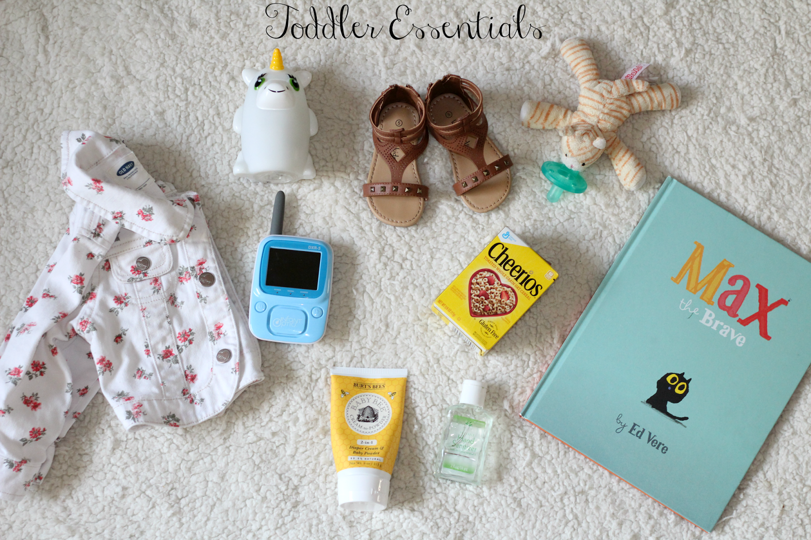Surviving the Toddler Stage: Toddler Essentials graphic