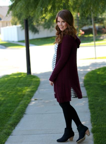 One Dress Three Ways: Stripes and a Cardigan