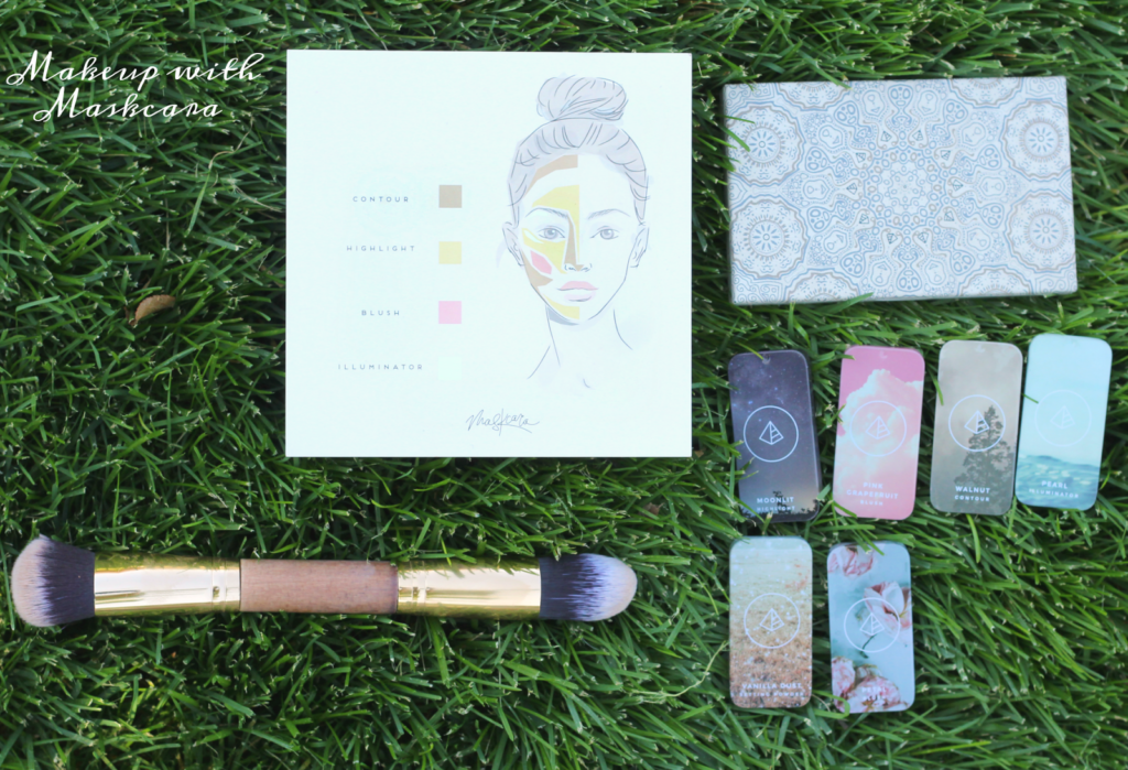 Simple makeup ft Maskcara Cosmetics