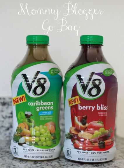 Mommy Go Bag feat. V8® Veggie Blends