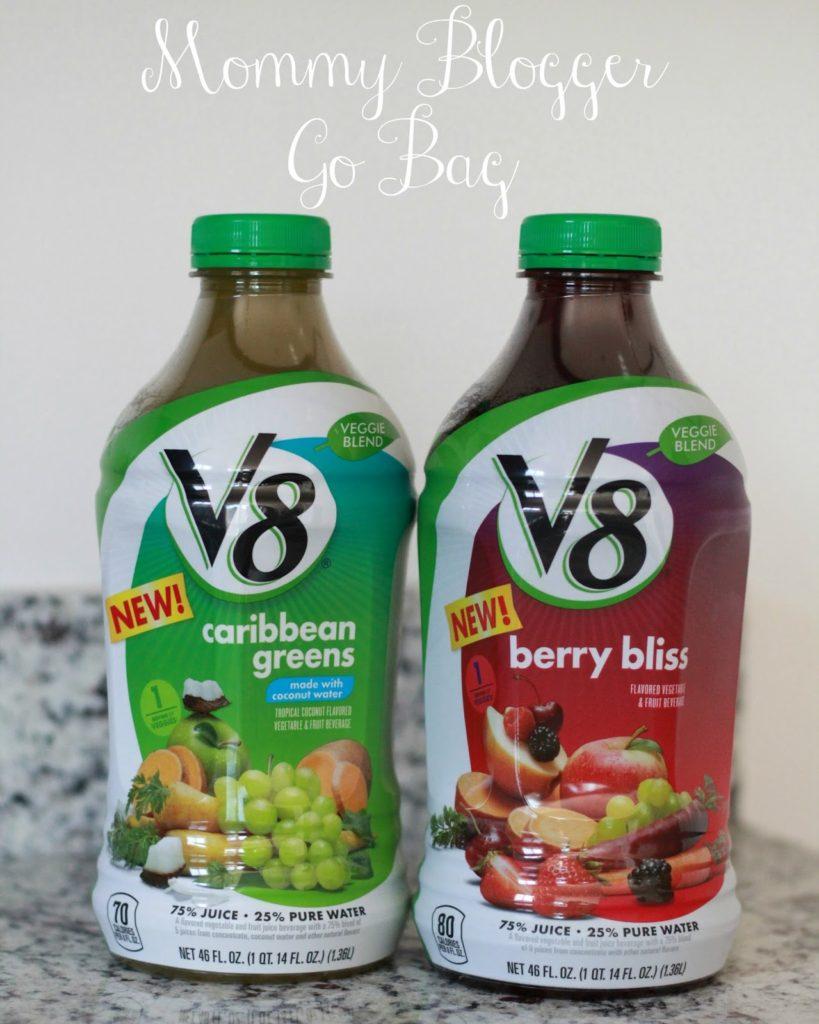 Mommy Go Bag feat. V8® Veggie Blends