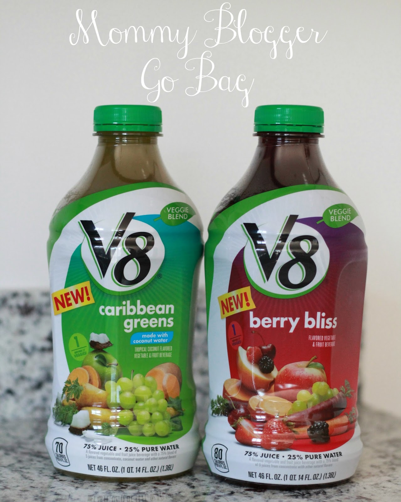 Mommy Go Bag feat. V8® Veggie Blends graphic