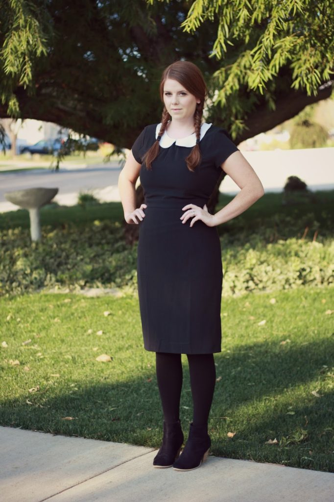 Wednesday Addams and Cousin It Cosutme DIY