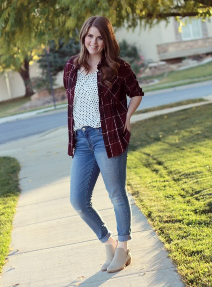 Dots and Plaid