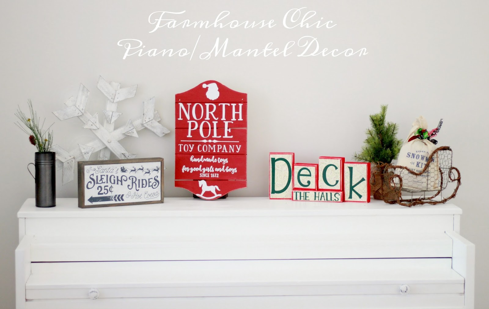 Decorating for the Holidays. graphic