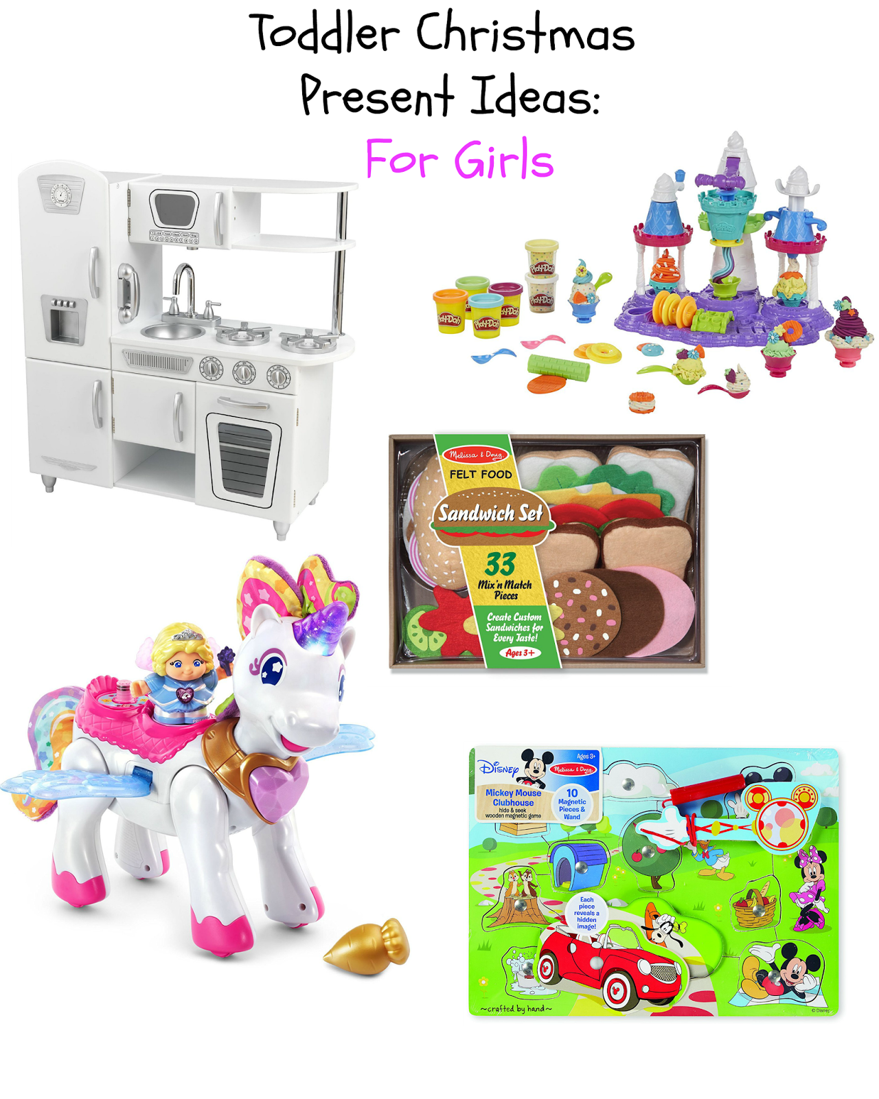 Toddler Girl Gift Ideas for Every Budget graphic