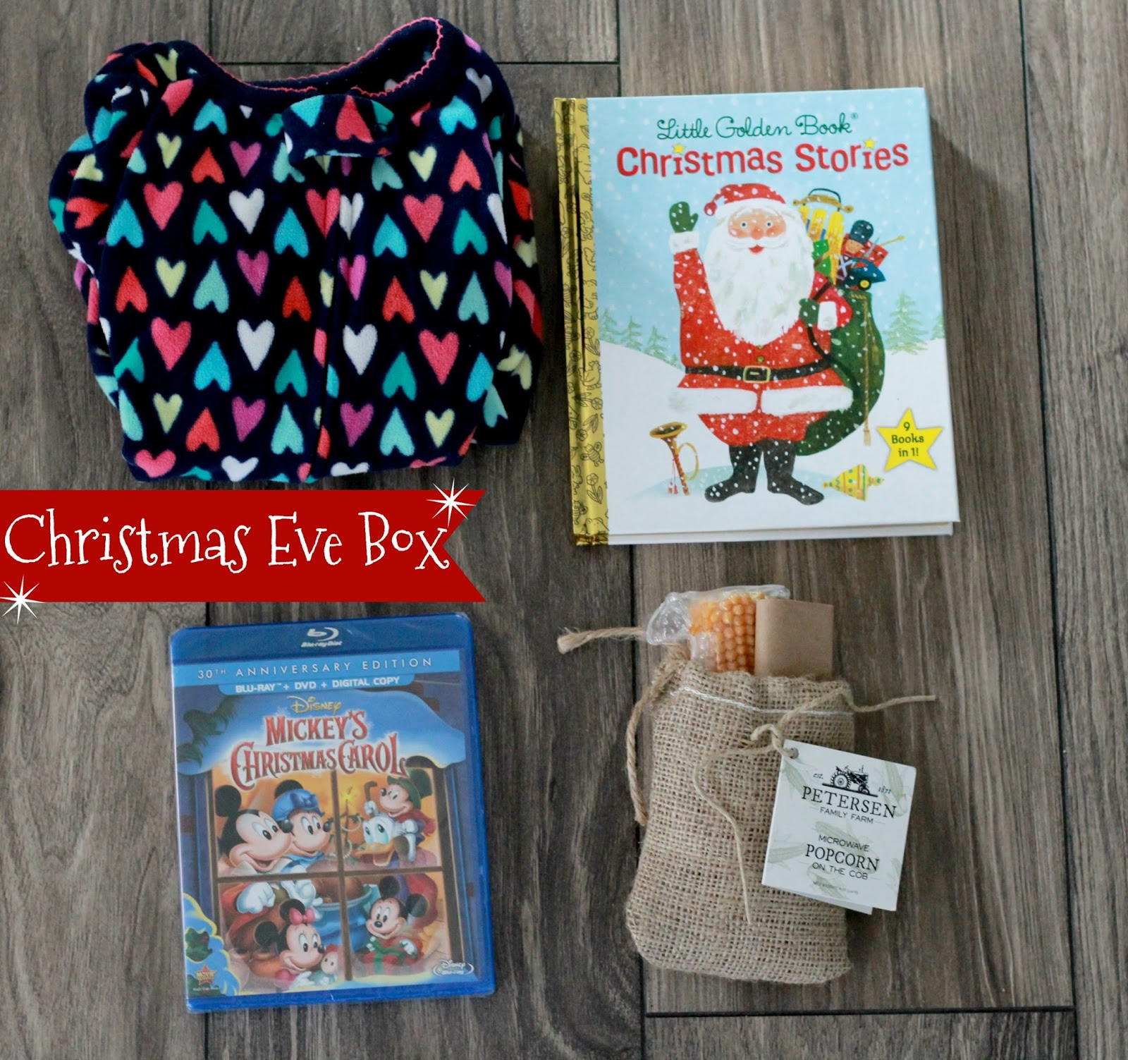 Mommy Style Monday: Christmas Eve Box graphic