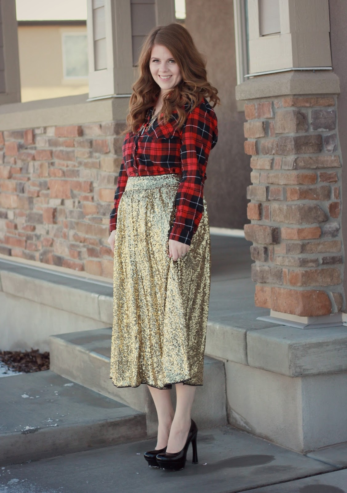 Holiday Sparkly Skirt graphic