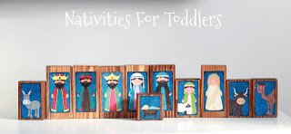 Toddler Friendly Nativity Scenes