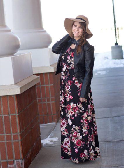 Winter Maxi Dresses+Giveaway