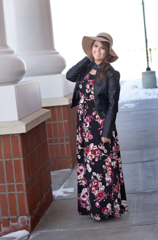 Winter Maxi Dresses+Giveaway