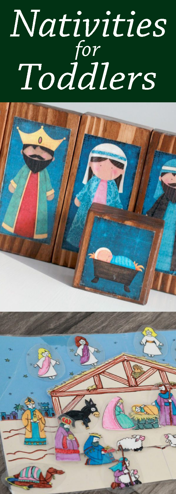 toddler nativity scenes