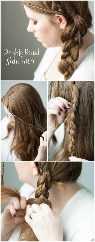 easy double braid tutorial