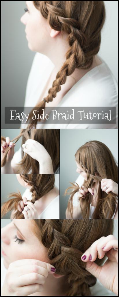 easy side braid