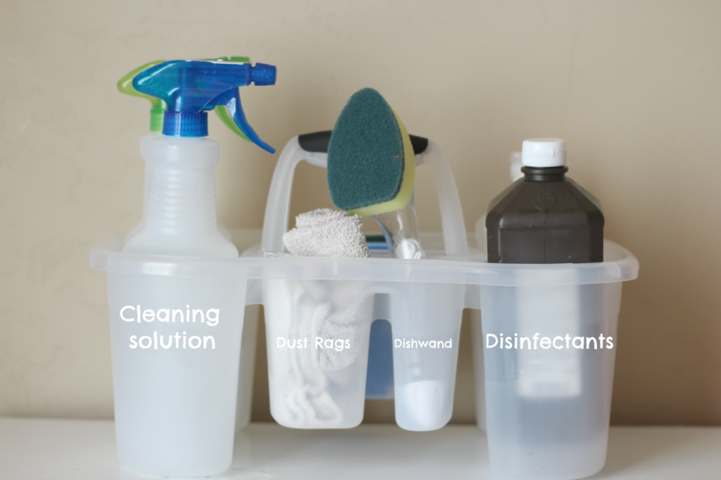 Mommy Style Monday: Cleaning Tips and tricks. graphic