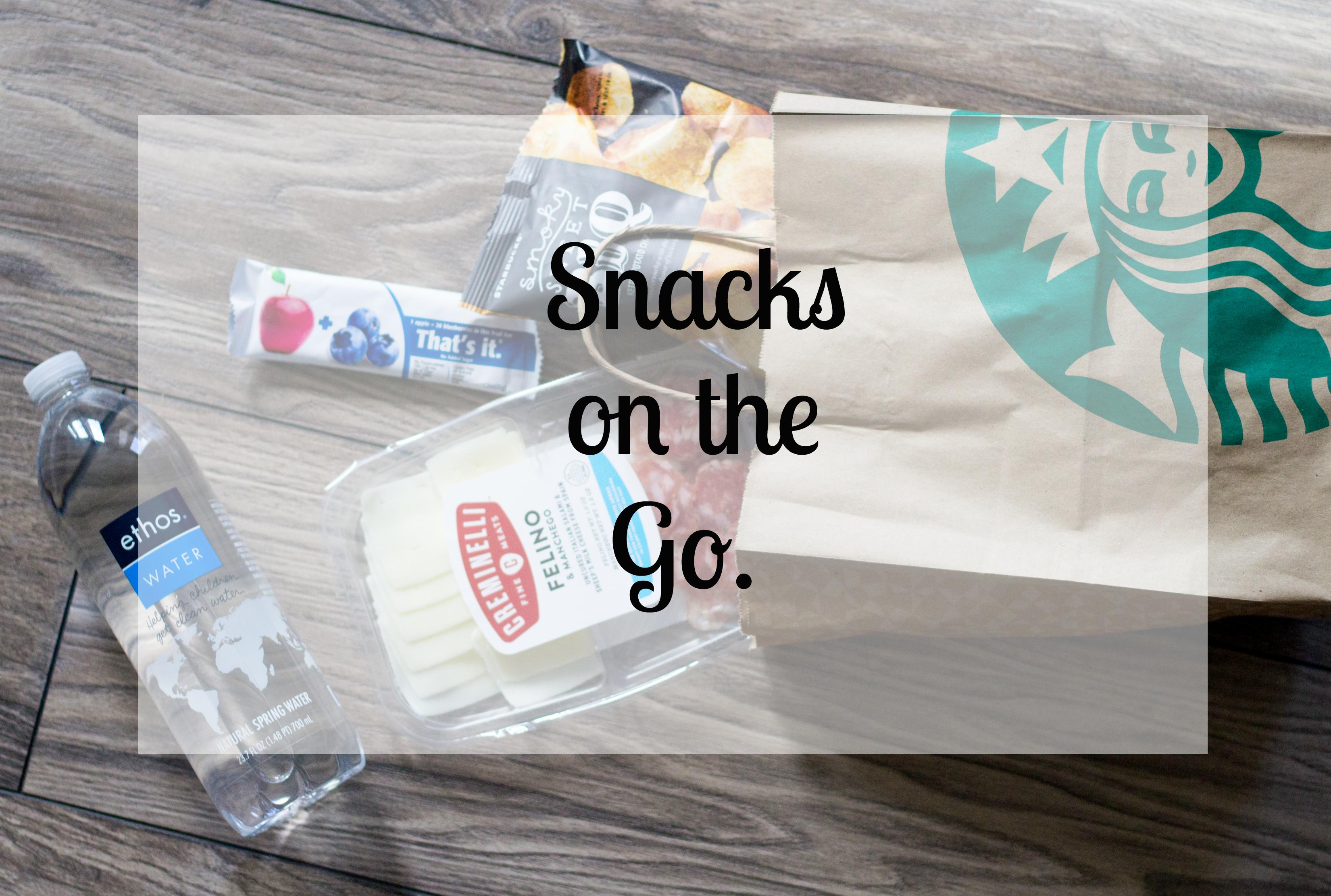 snacks on the go