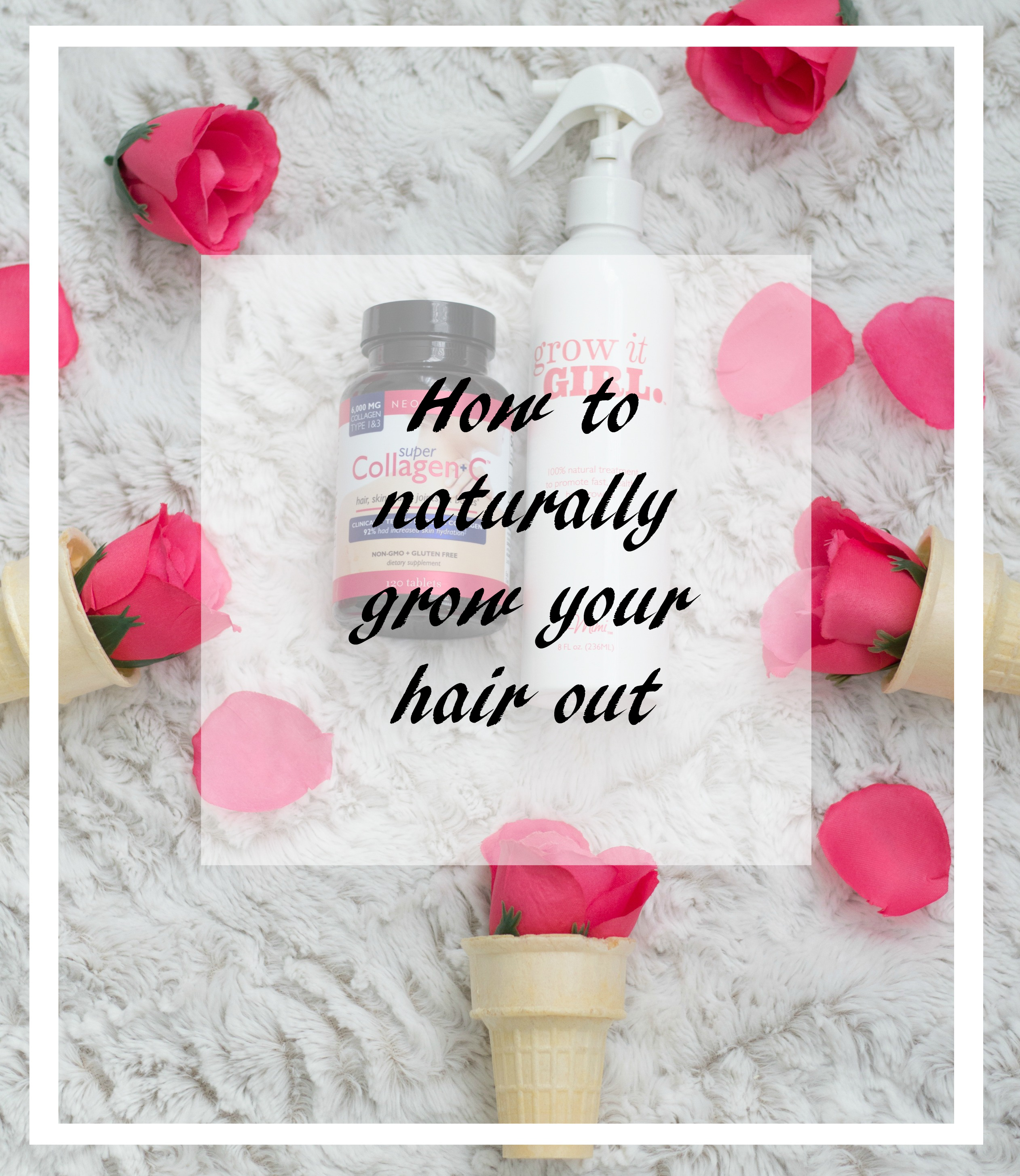 My top 2 hair products for Hair Growth graphic