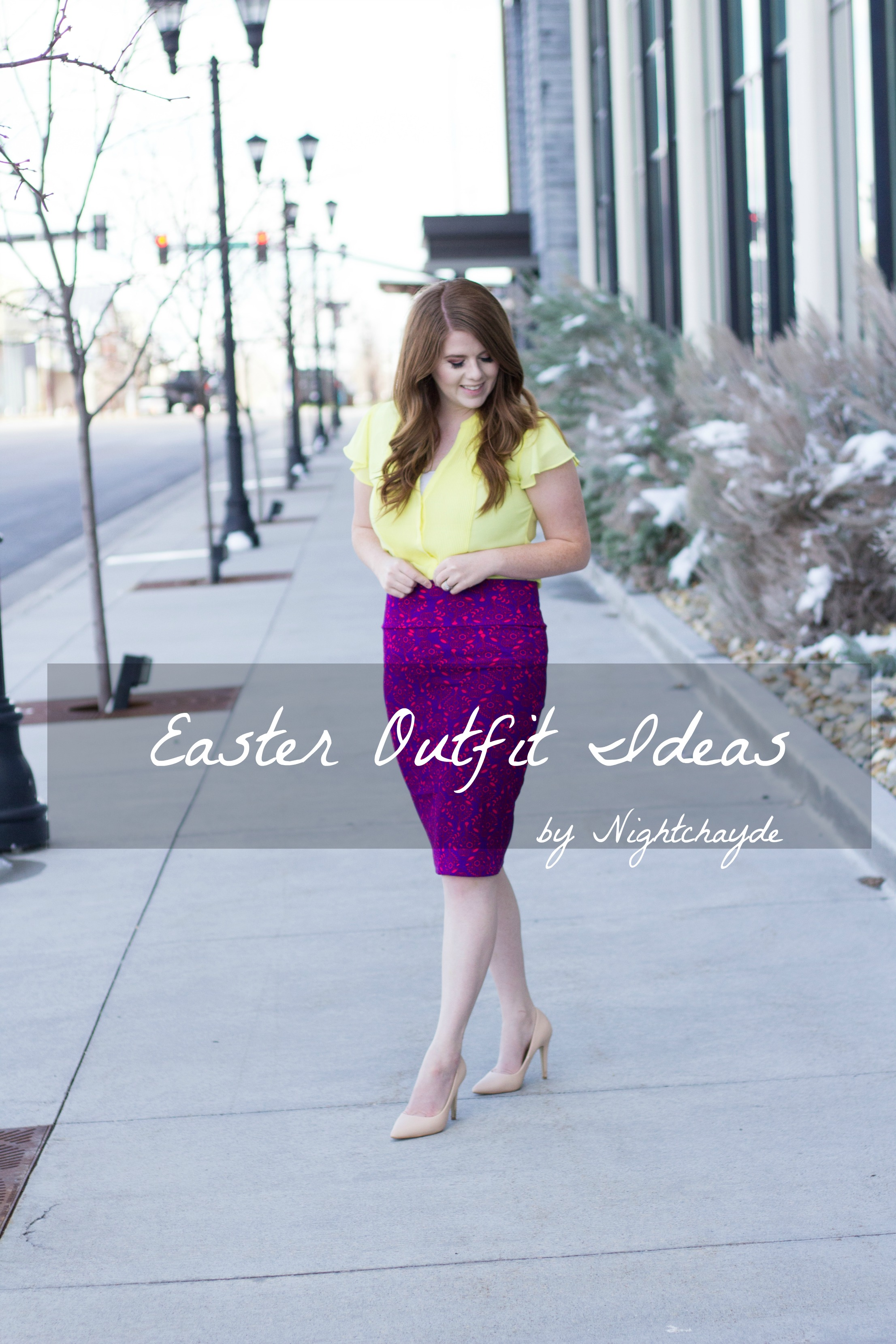 Easter Outfit Ideas graphic