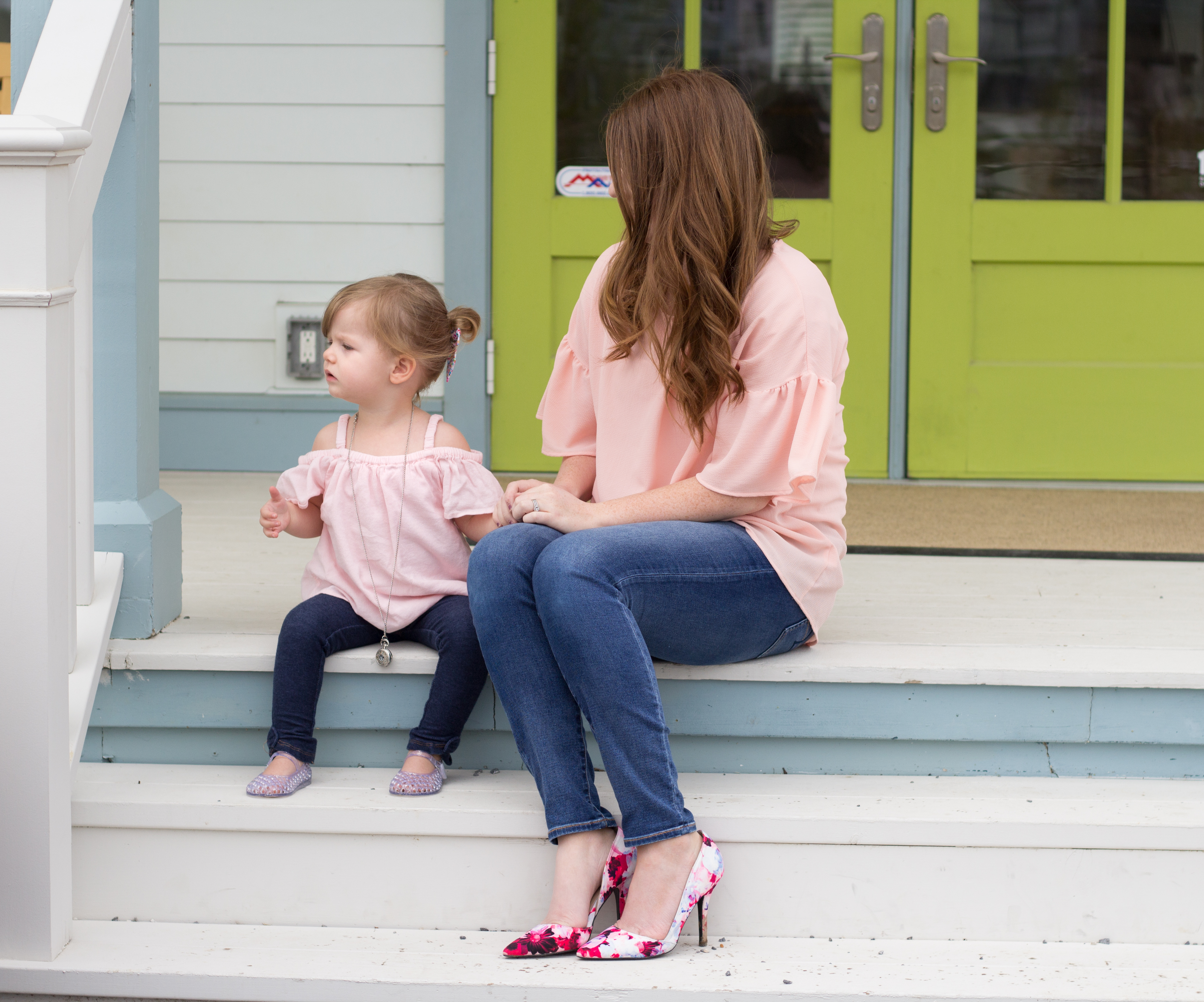 Mommy and Me Pink Top