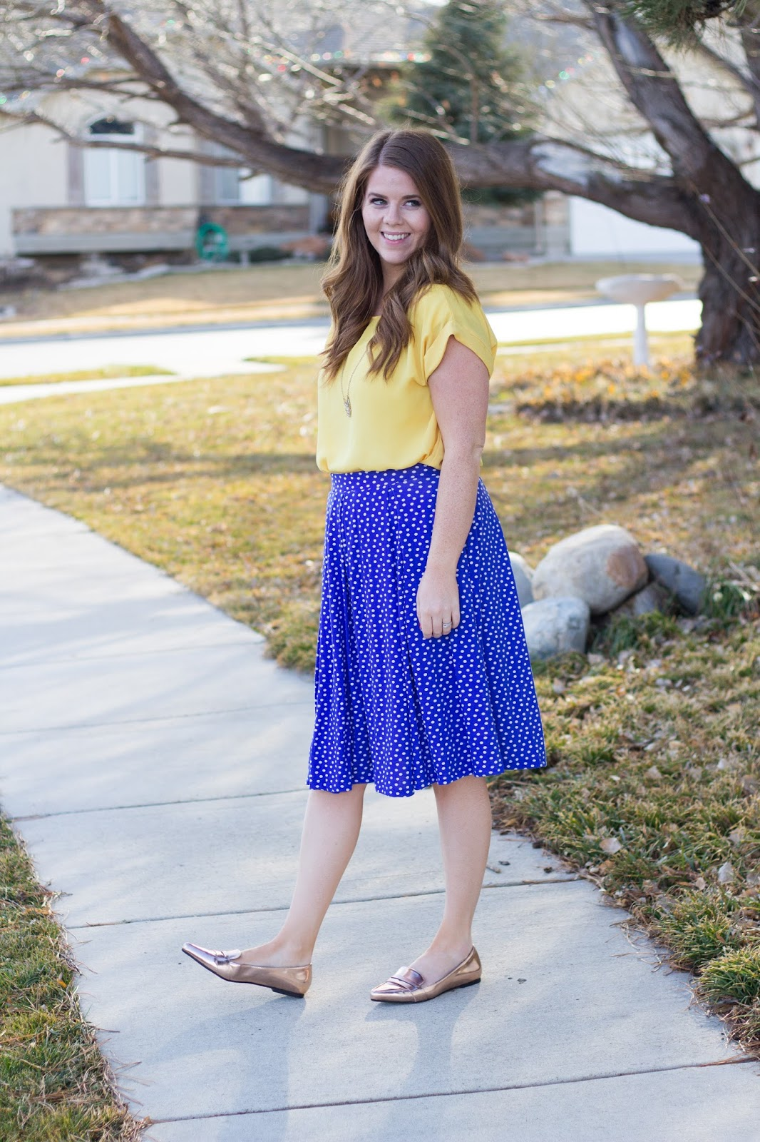 Skirt And Blouse Fashion