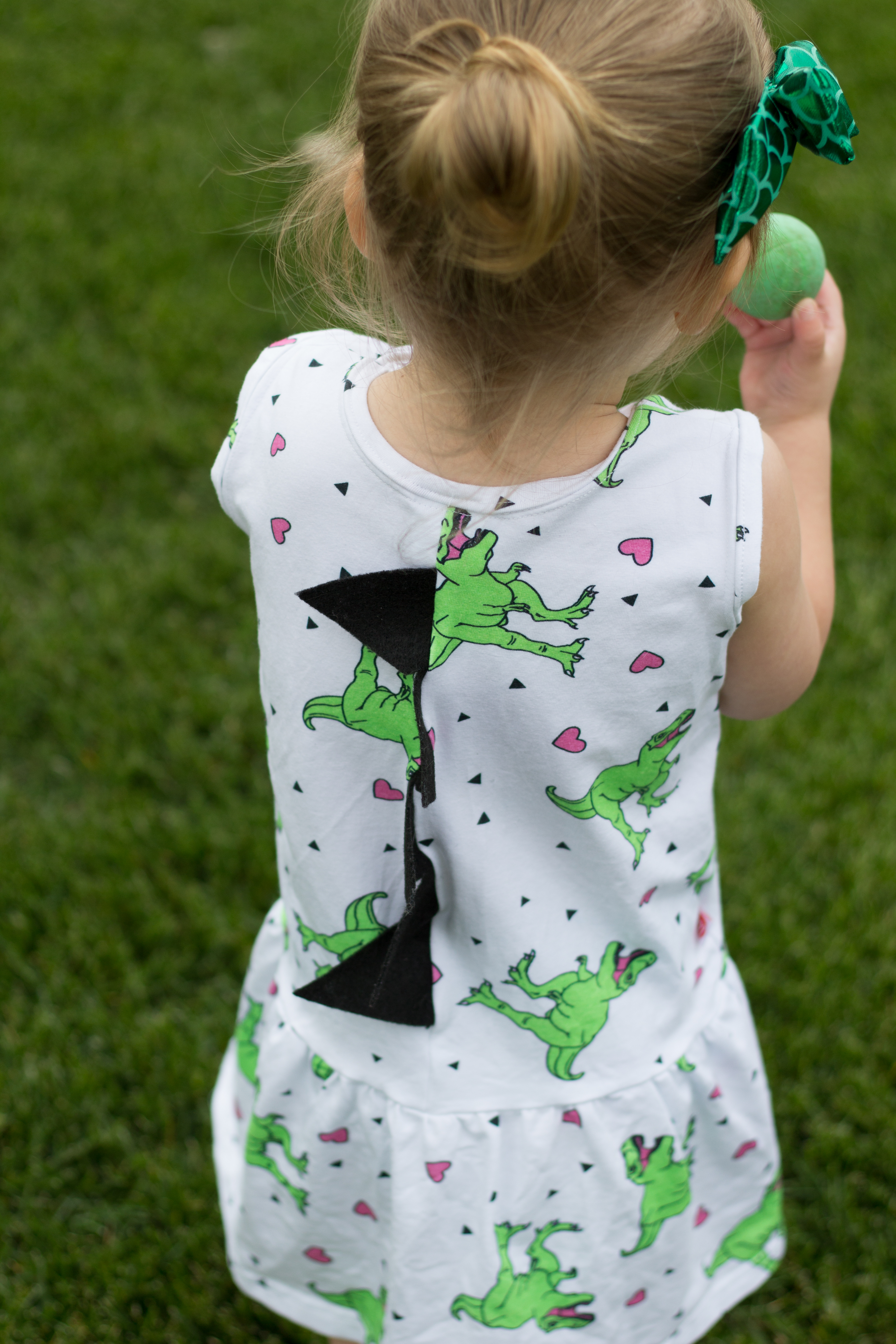 Girls Dinosaur Dress