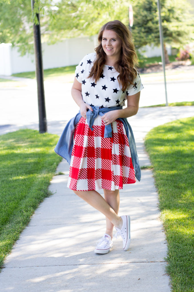 Stars Stripes and Skirts