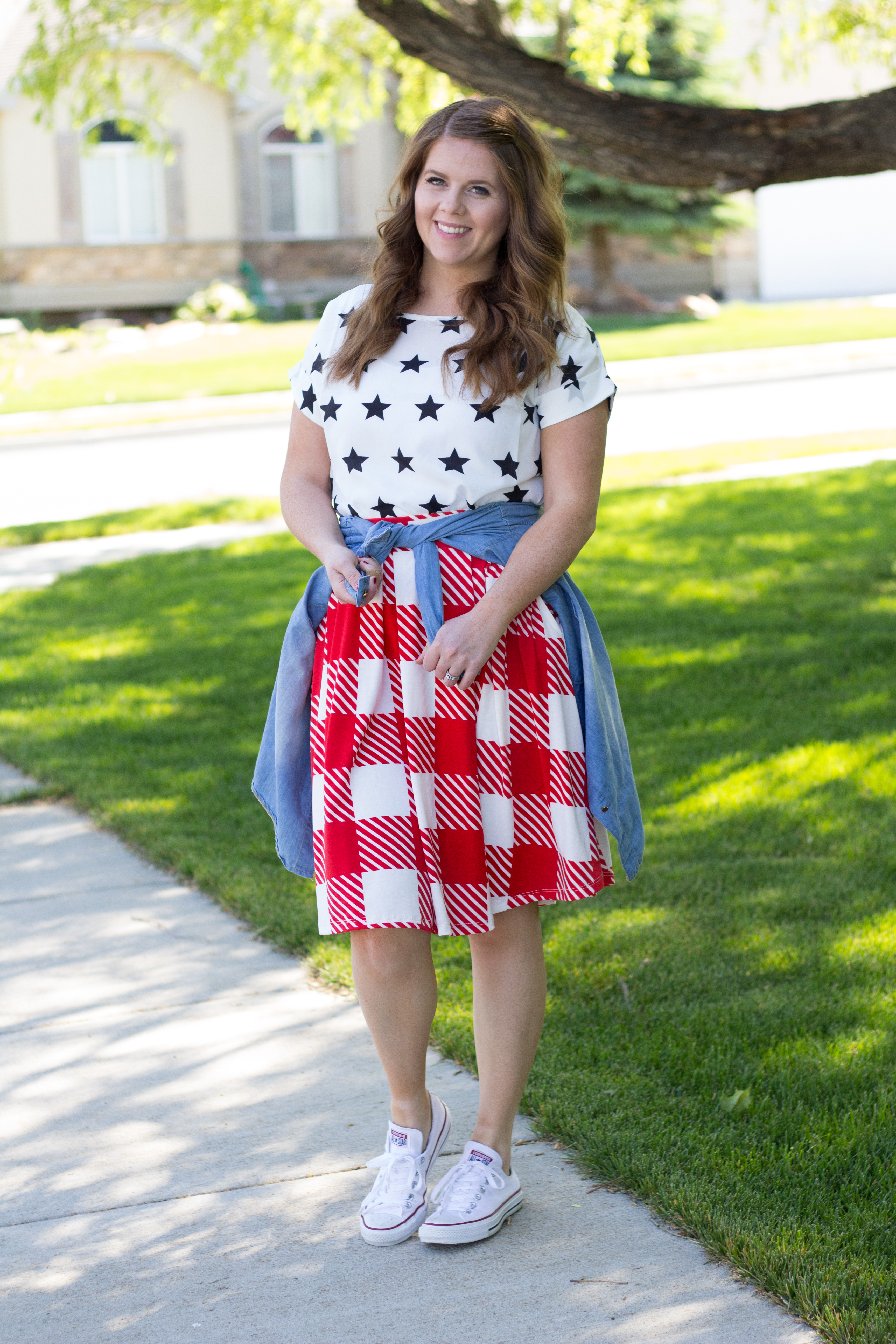Stars and Stripes: Fourth of July Outfit