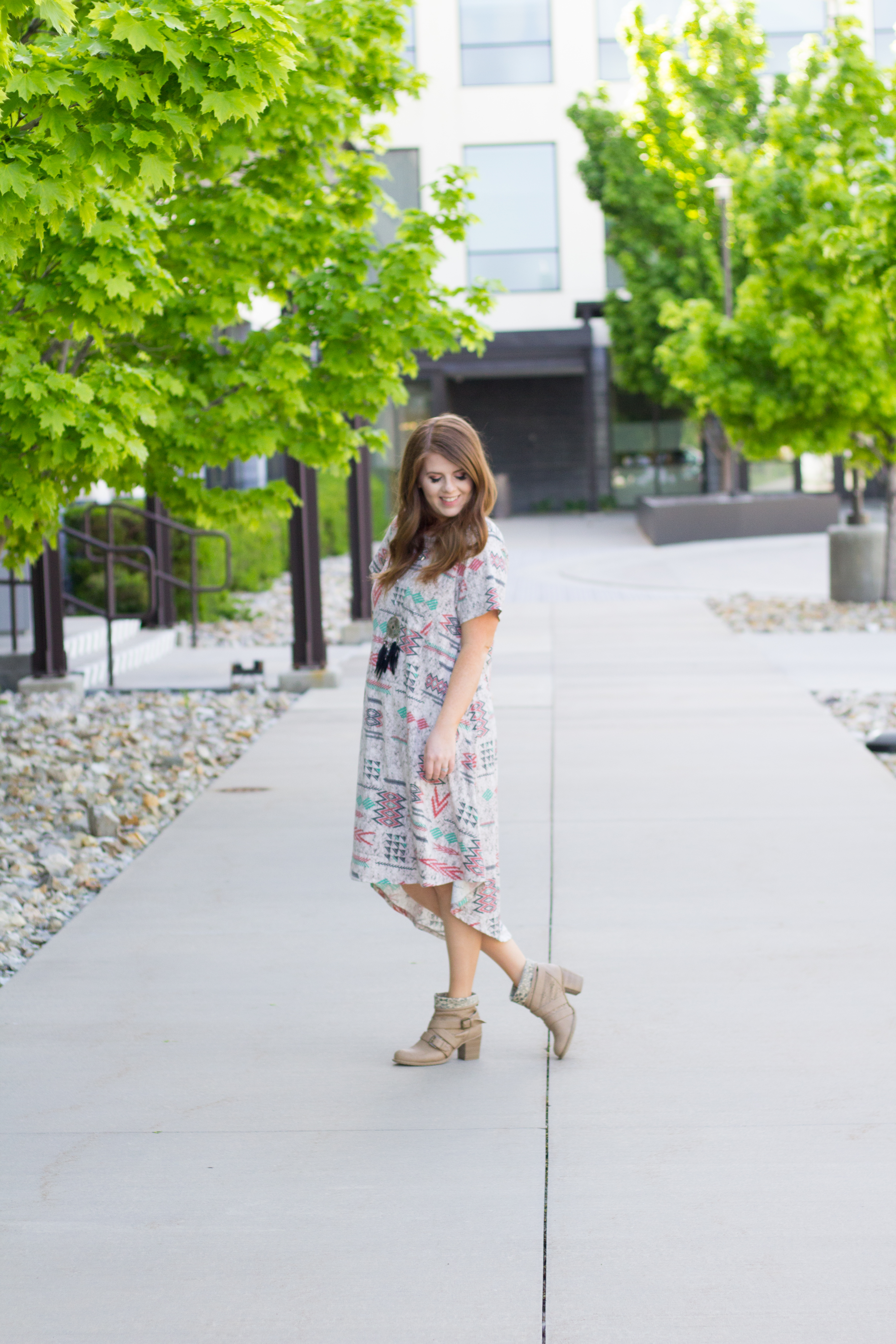The Perfect Summer Dress: The Lularoe Carly graphic