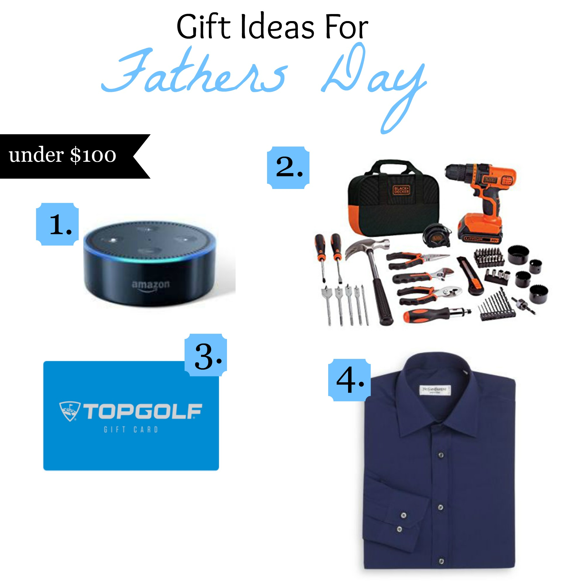 Last Minute Father's Day Gifts graphic