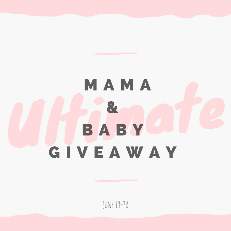 Mama and Baby Giveaway graphic