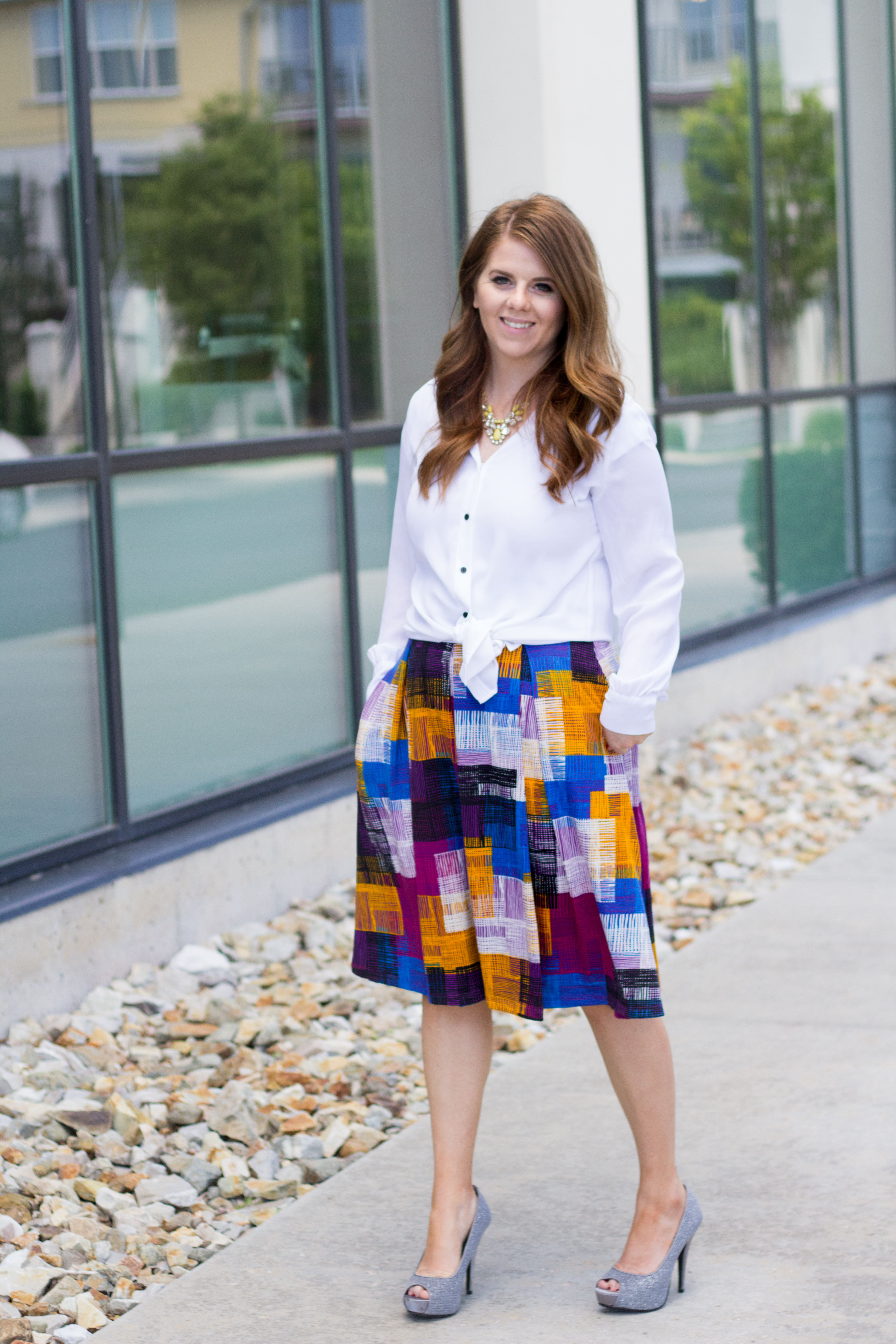 Colorblocked Lularoe Madison