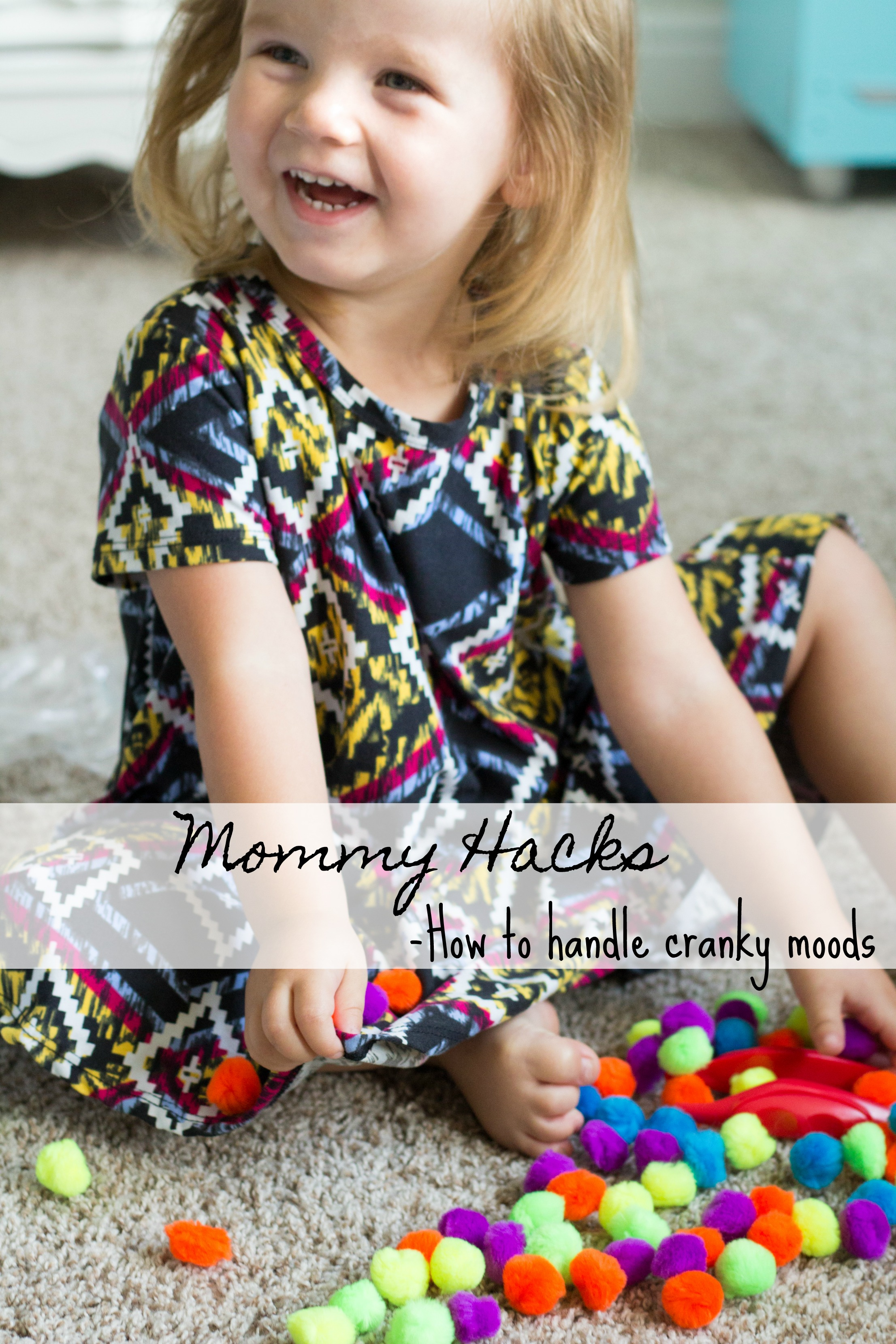 Mommy Hacks: How to handle Cranky Moods+Giveaway graphic