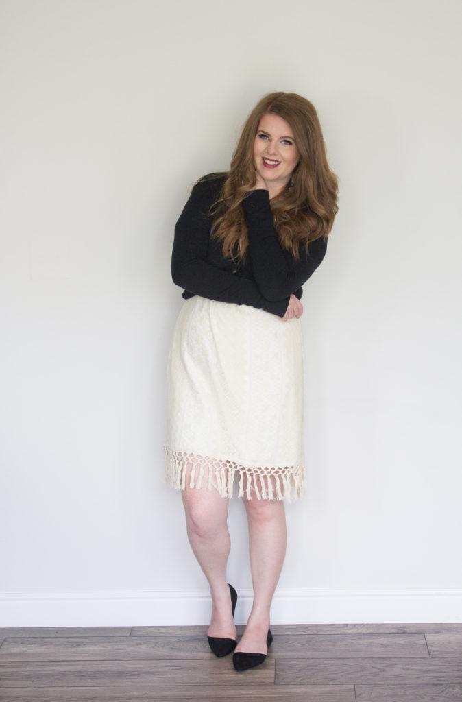 1 Dress 5 Ways: Cardigan And a Dress