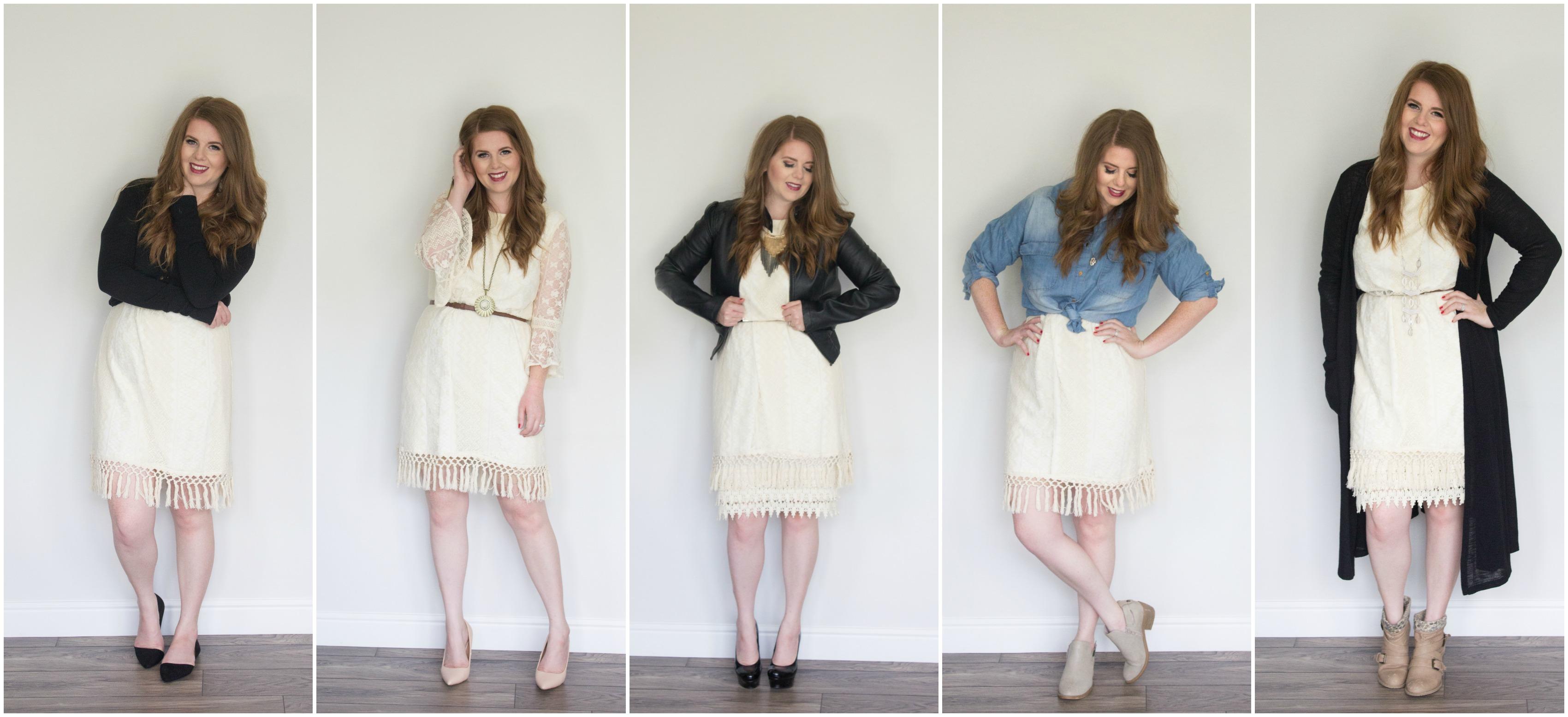One Dress Five Ways