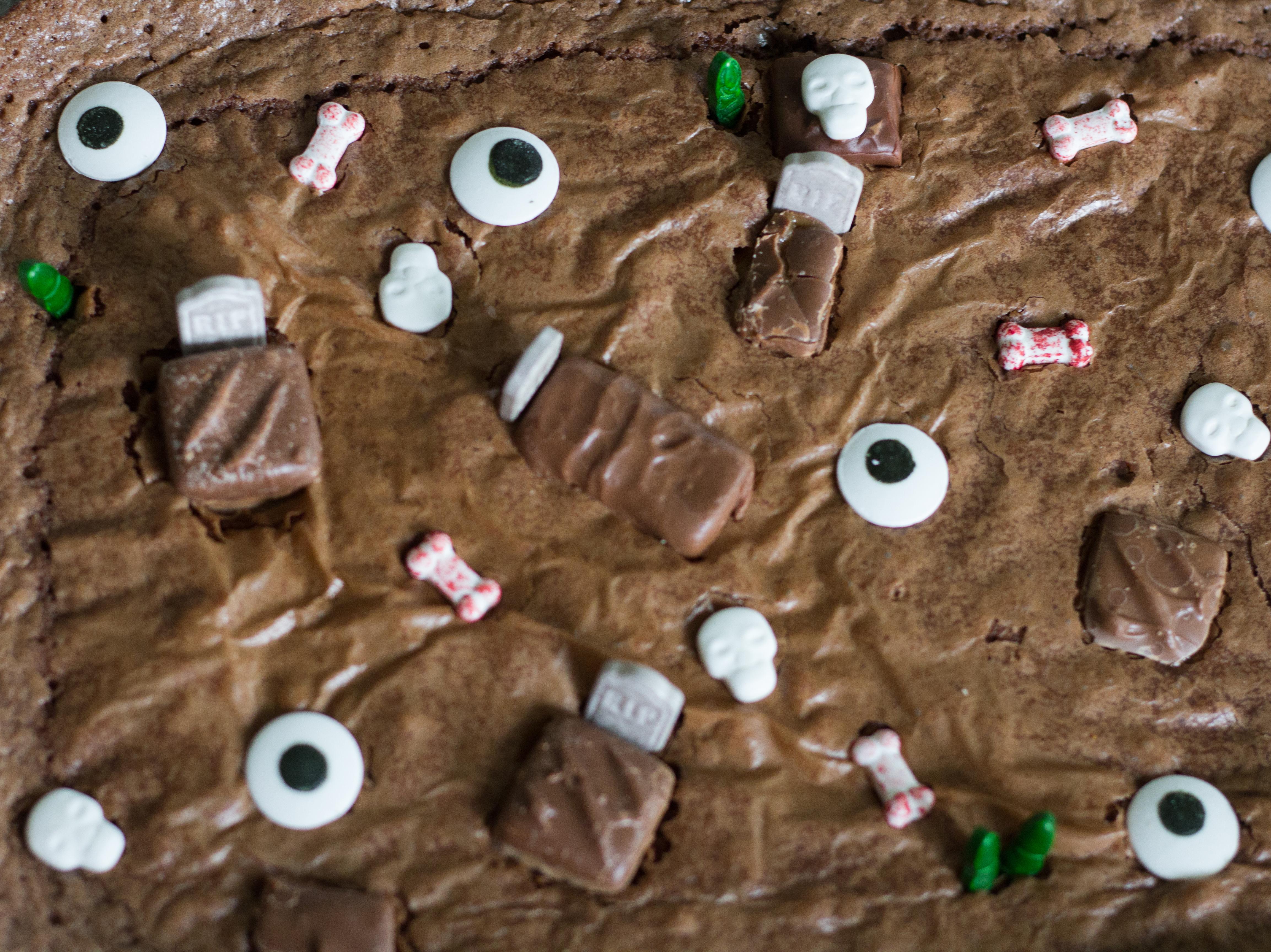Haunted Brownies