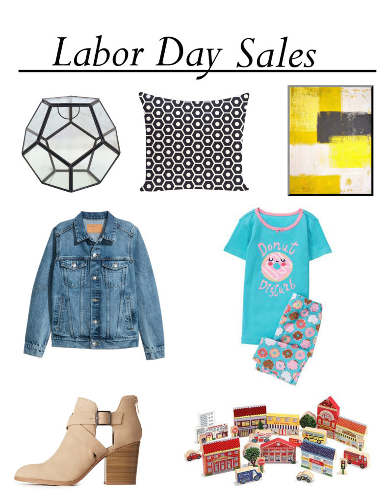You can find some great deals on Labor Day, especially on mattresses, appliances and outdoor items like grills. Because Labor Day takes place at the end of summer, it's a good time to find summer clothing at a steal, as well as outdoor/patio furniture.
