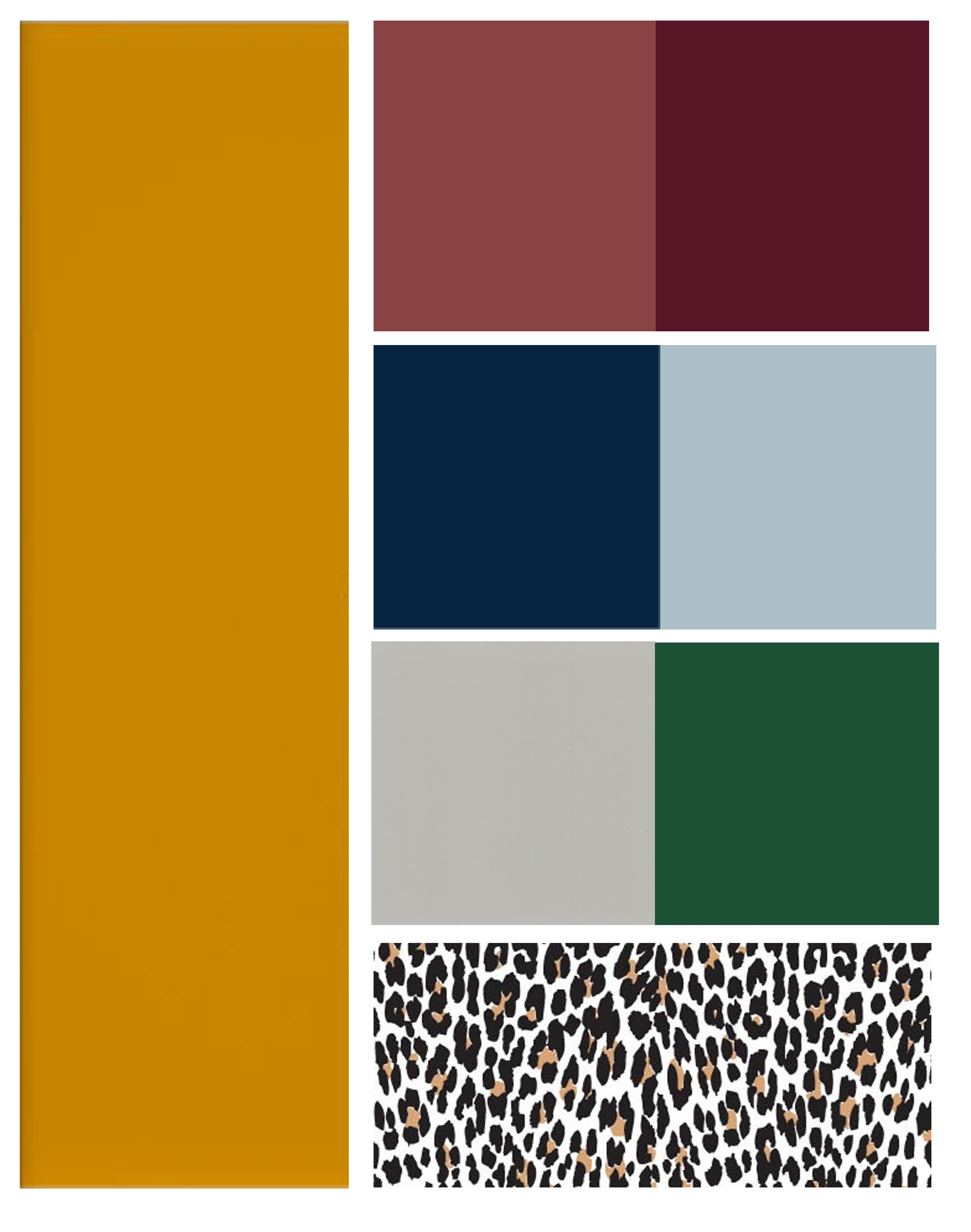 Fall Color Pairing graphic