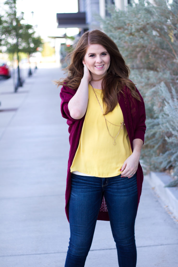 Styling for Fall with Color
