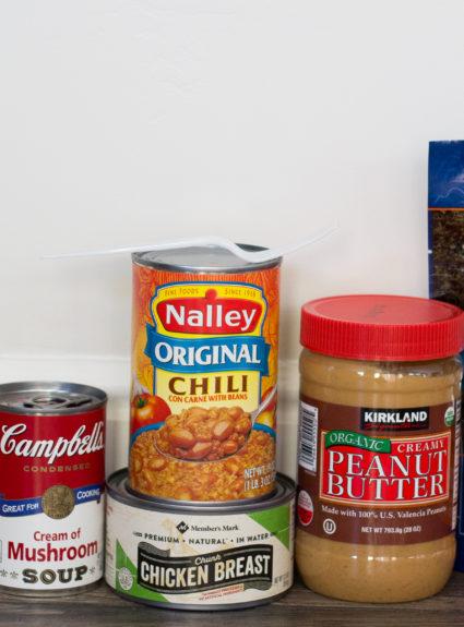 Go Bag 72 Hour kit: Food