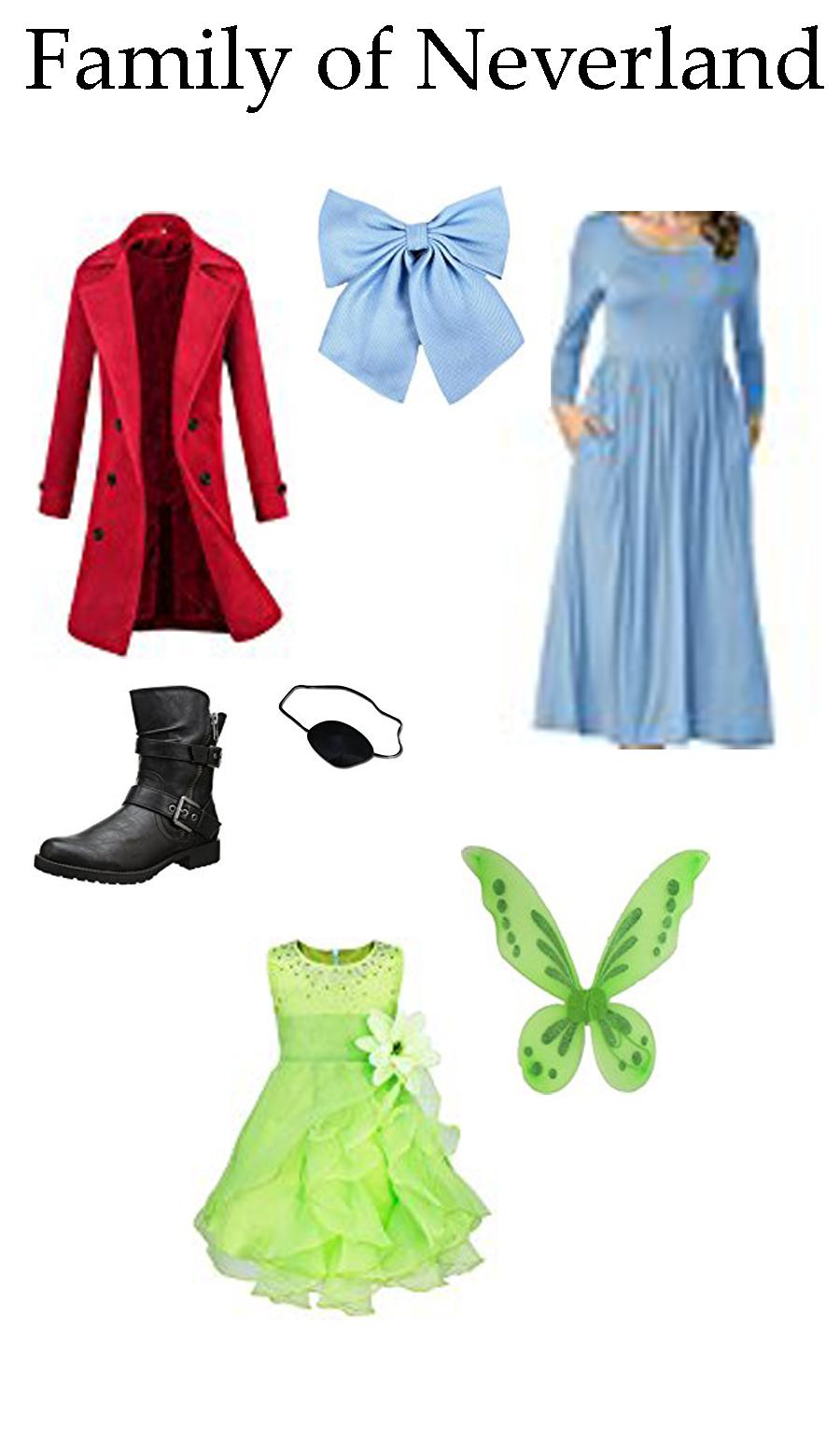 Neverland Costume Ideas