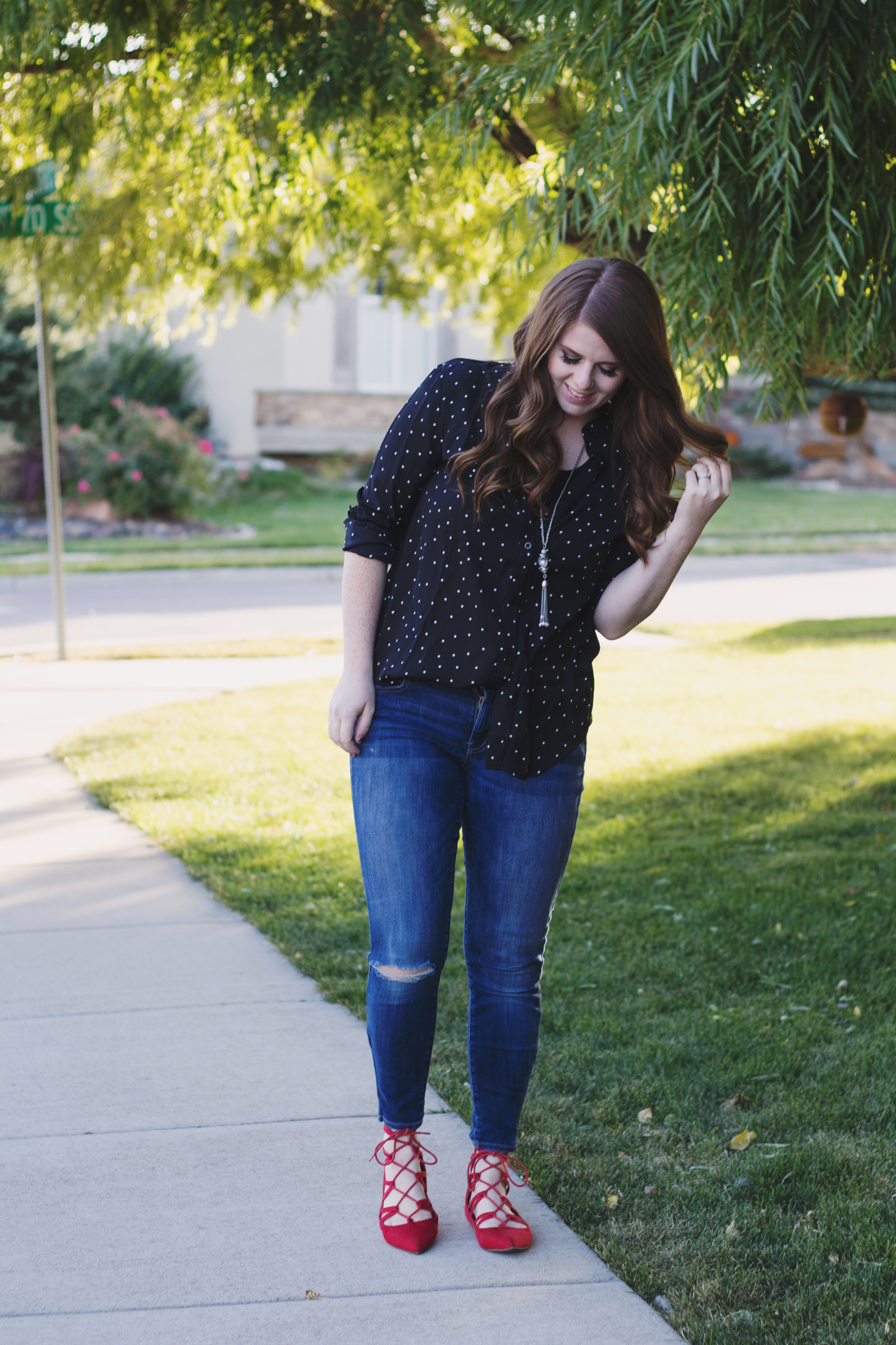 The One where I wear Polka Dots graphic